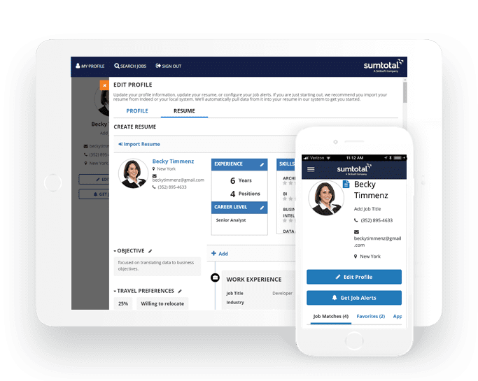 SumTotal's redesigned Recruiting solution does just that through a smartphone-optimized career sites with apply capability, candidate-matching, automated and intelligent interview tools with an end-to-end, easy-to-use user experience from applicants to recruiters.