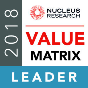 Leader in Nucleus Research
